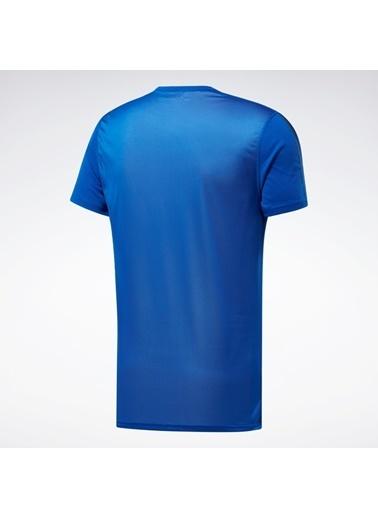 Reebok Workout Ready Tech Tışört Mavi